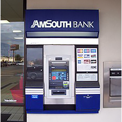 AmSouth Bank ATM