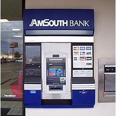 AmSouth Bank ATM
